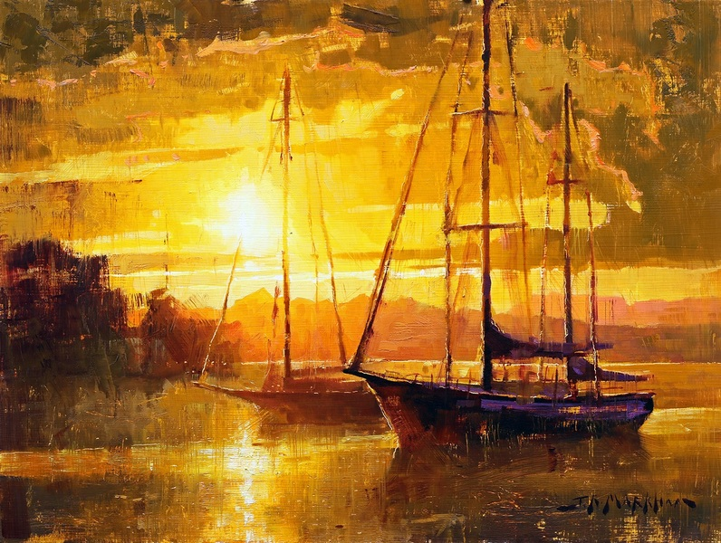Jerry Markham Pacific Sunset