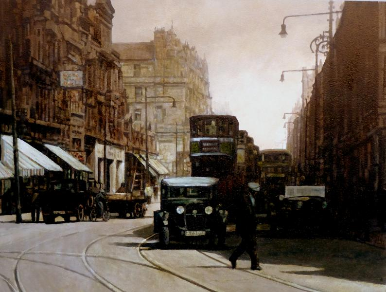 Alan Wylie Charing Cross
