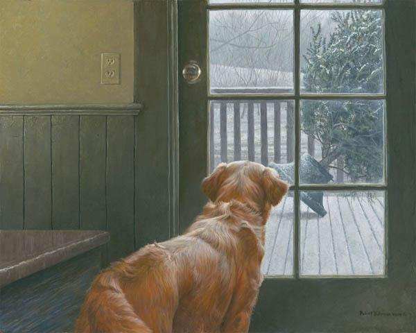 Robert Bateman Observing Christmas