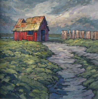 Philip Buytendorp Red Shed #2