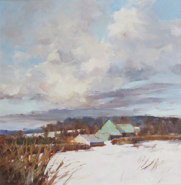 Deborah Tilby Clouds Over The Snow