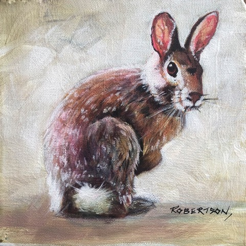 Janice Robertson Cotton Tail II