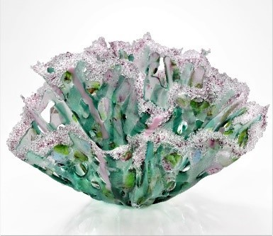 Pastel Garden Double Dip Vessel by Doroni Lang