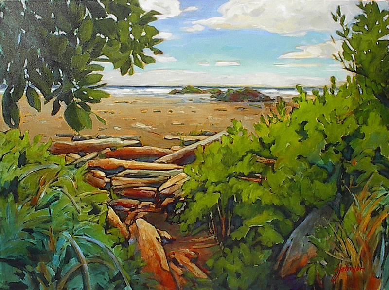 Gail Johnson Path to the Pacific
