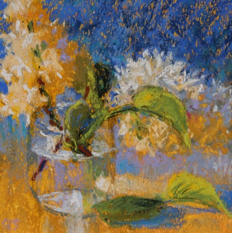 Gail Sibley Lilacs in Blue