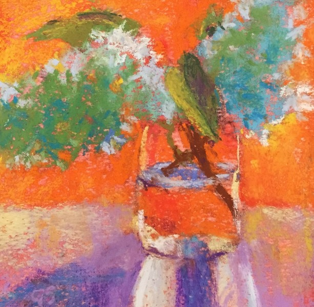 Gail Sibley Lilacs in Orange