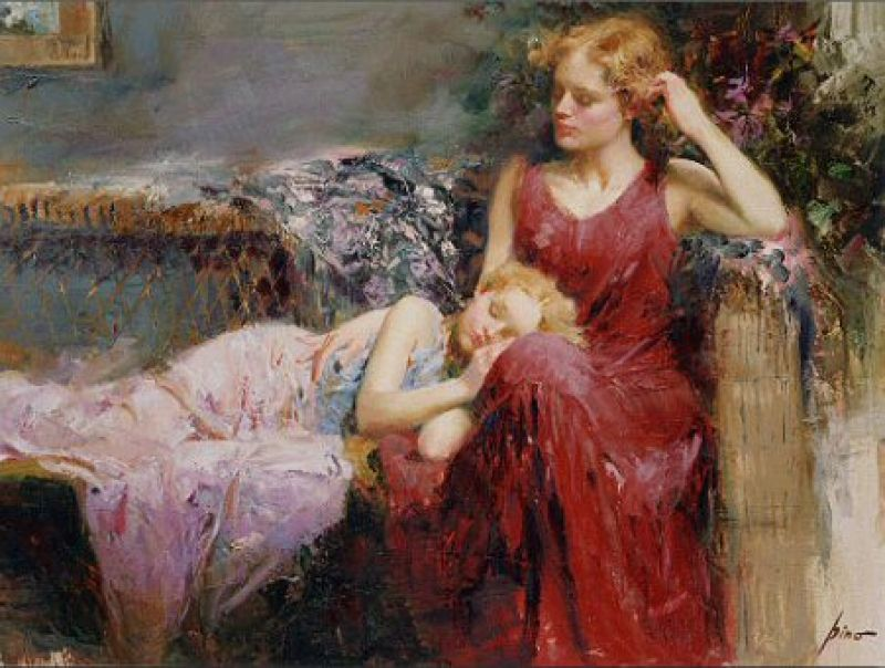 Pino Daeni Mother's Love