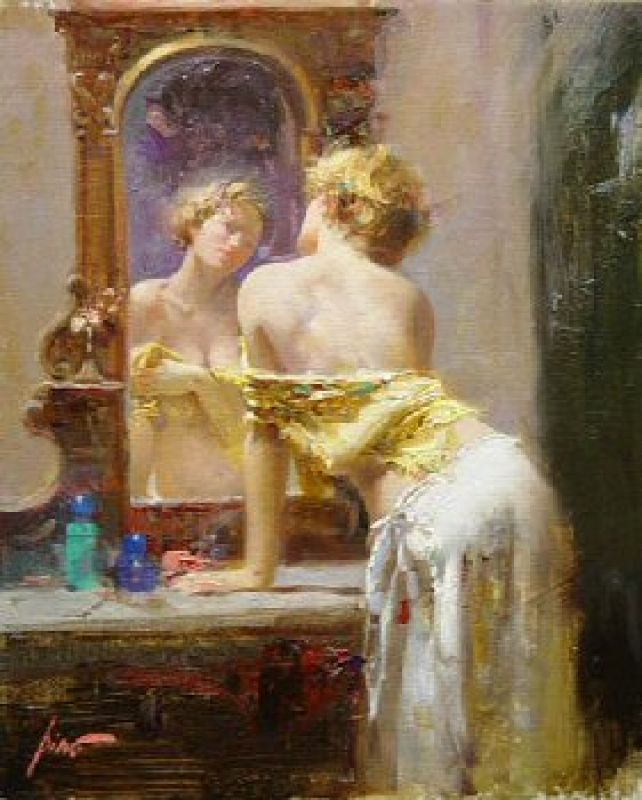 Pino Daeni The Looking Glass