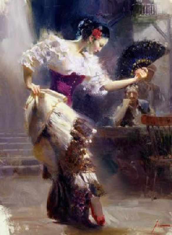 Pino Daeni The Dancer