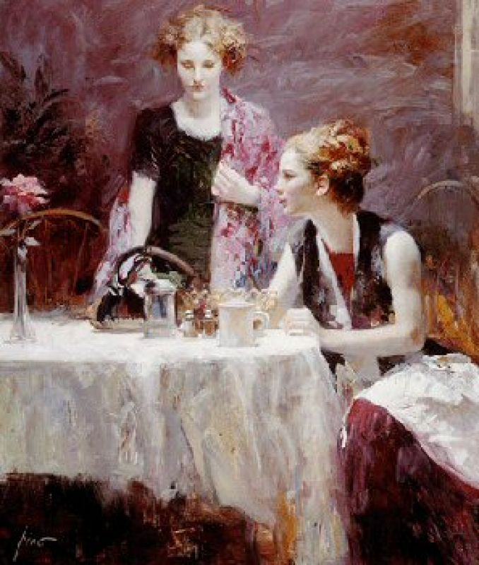 Pino Daeni After Dinner