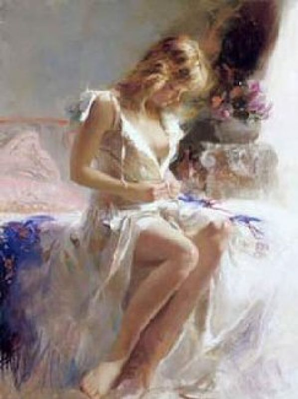 Pino Daeni Early Morning