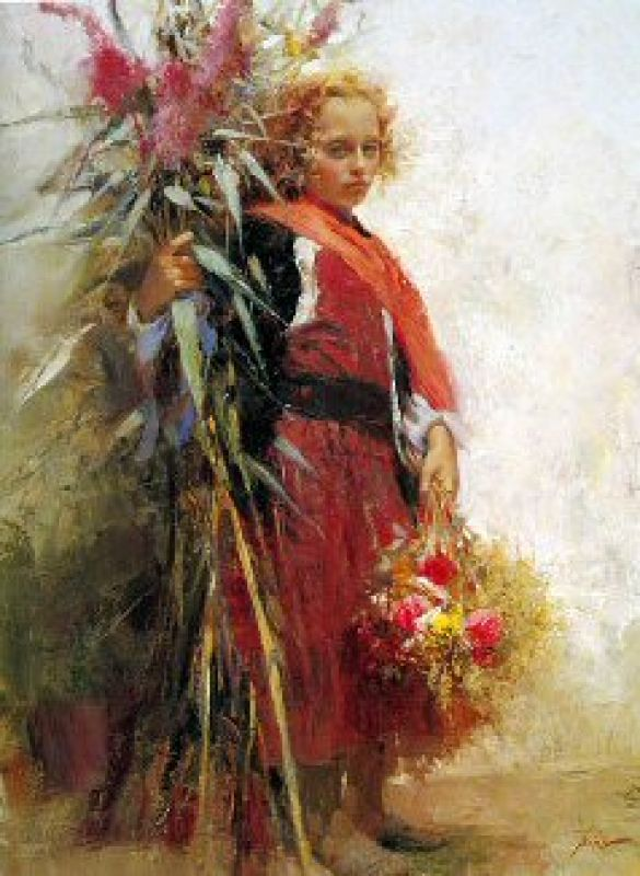 Pino Daeni Flower Child