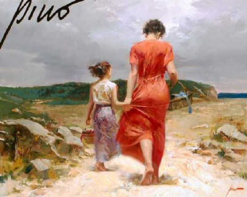 Pino Daeni Homeward Bound