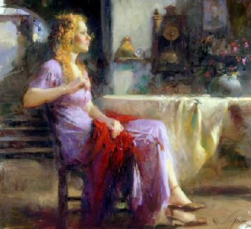 Pino Daeni Longing For