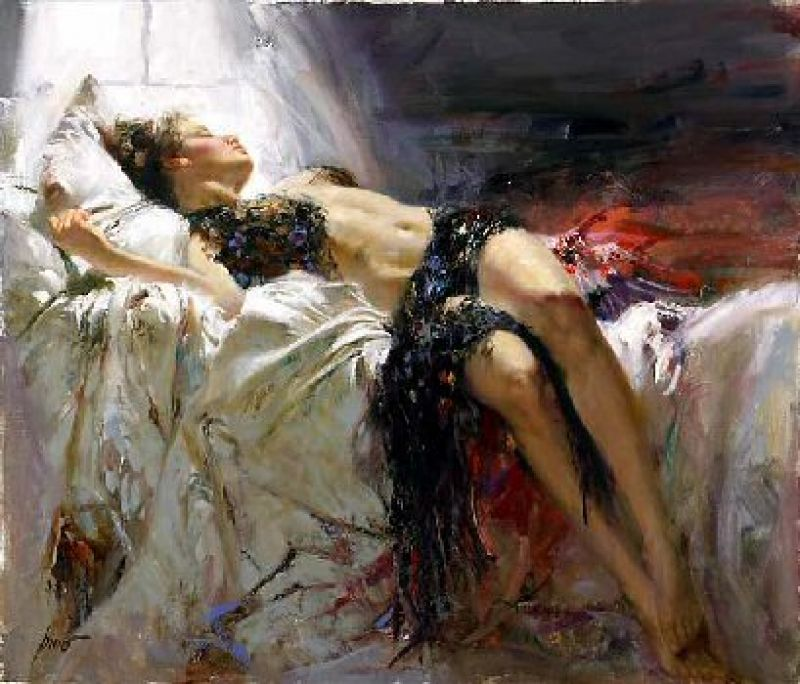 Pino Daeni Morning Dreams