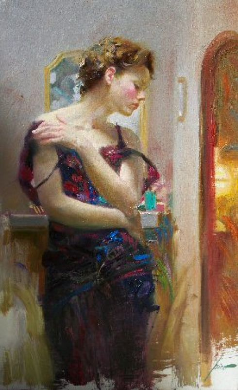 Pino Daeni Lost in Thoughts