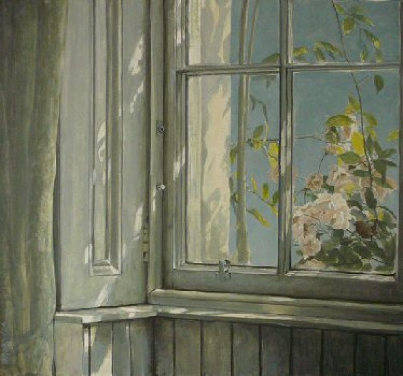Robert Bateman Manor House - Wren and Roses