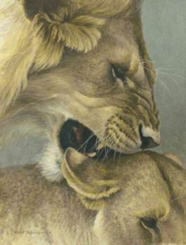 Robert Bateman Mating Game, (The)