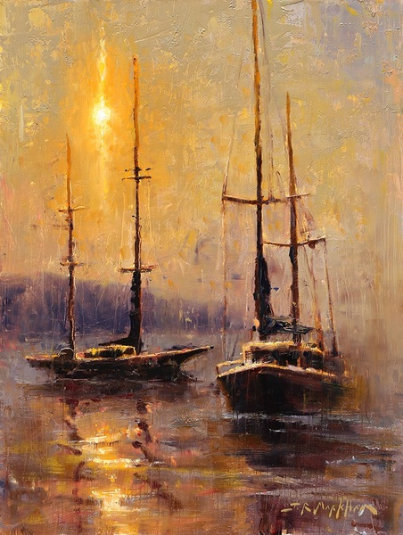 Jerry Markham Morning in the Harbour