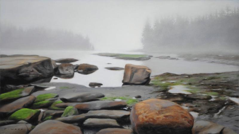 Ray Ward Lifting Fog, Boulder Beach