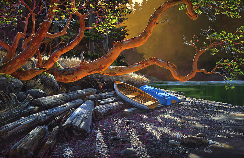 Mark Hobson Arbutus Morning