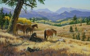 Mark Hobson Horses: Midday Hangout