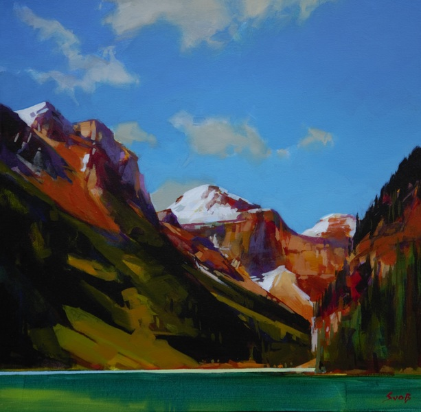 September Dress (Lake Louise) by Mike Svob
