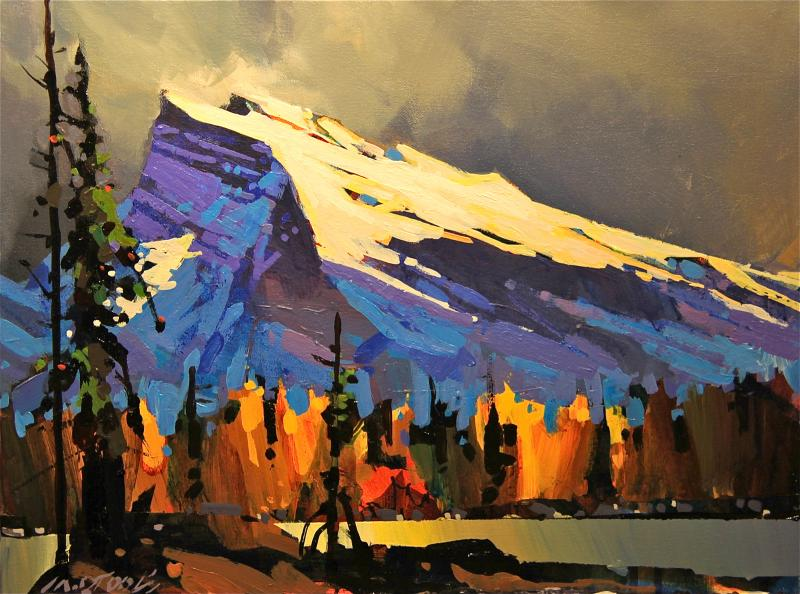 Michael O'Toole Mount Rundle
