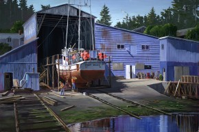 Mark Hobson Nanaimo Shipyard: Restoring The Jolly Roger