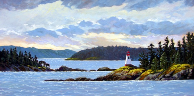 Janice Robertson Portcove Lighthouse