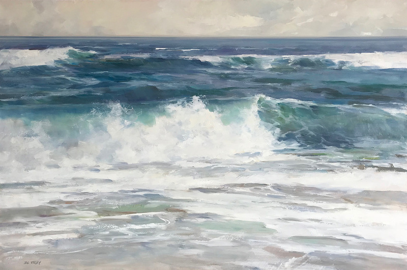 Deborah Tilby Portrait of A Wave