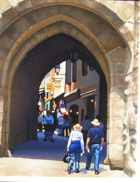 Ray Ward Entrance to Carcassonne