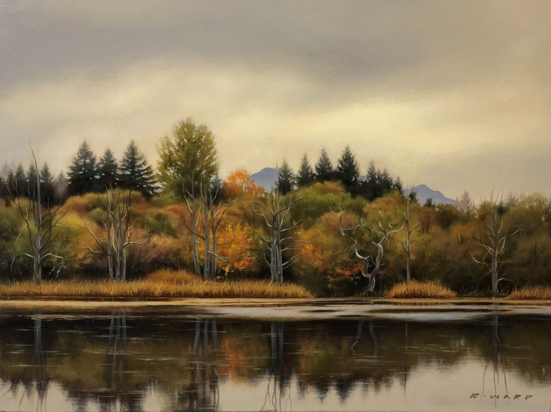 Ray Ward Autumn Shoreline