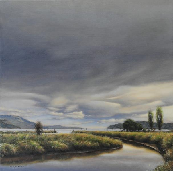 Ray Ward Storm Front, Cowichan Bay