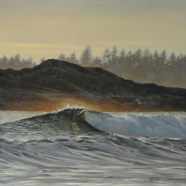 Ray Ward Sunlit Breaker