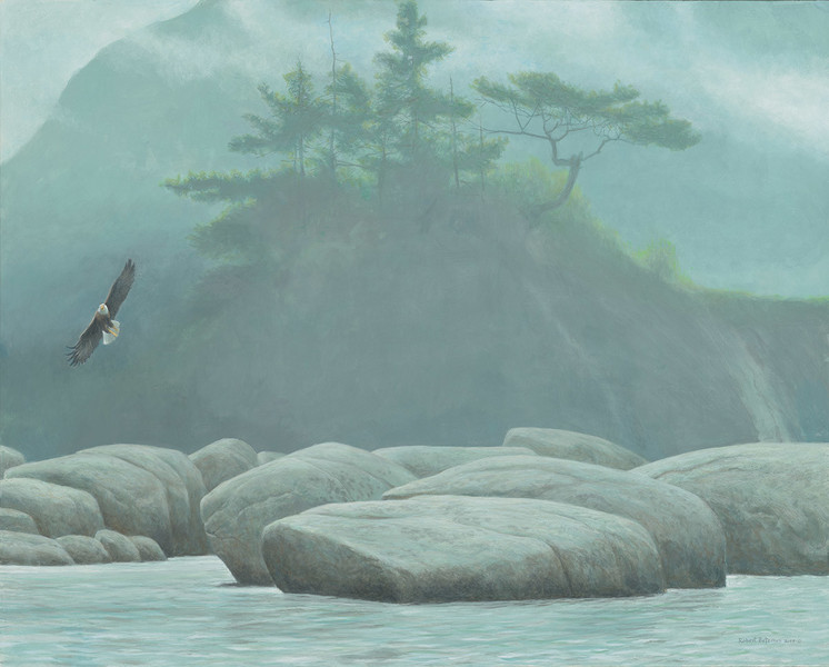 Robert Bateman Inside Passage – Bald Eagle