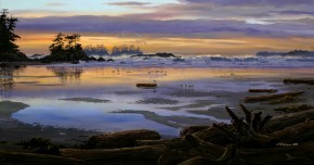 Mark Hobson Schooner Cove at Sunset