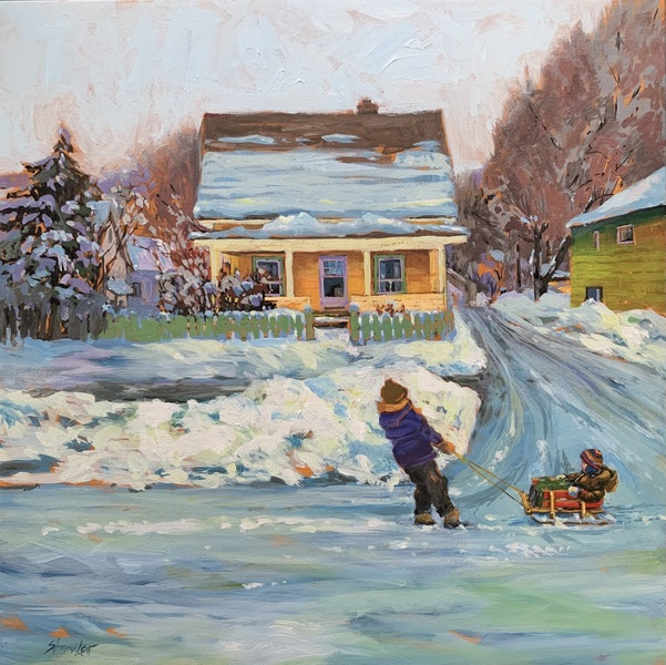 A Canadian Winter by Sheena Lott