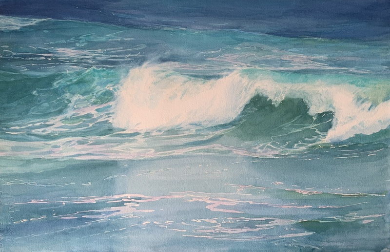 Sheena Lott The Wind and the Waves