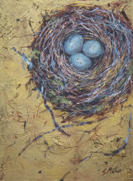Sheila Mather Nesting III