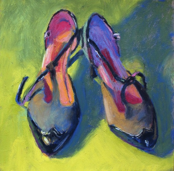 Gail Sibley For the Love of Shoes #10 - Tango with Pink