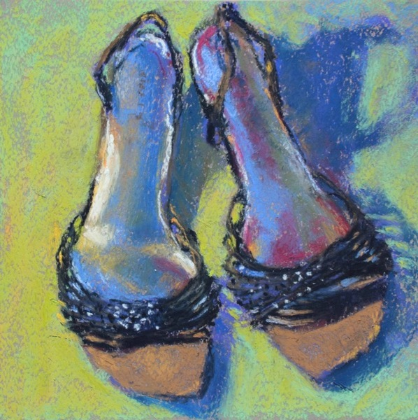 Gail Sibley For the Love of Shoes #3 - Silver & Sparkle