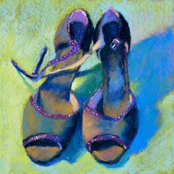 Gail Sibley For the Love of Shoes #7 - Tango with Purple