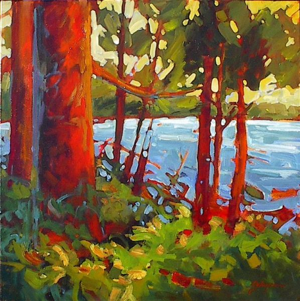 Gail Johnson Sitka Spruce Shoreline