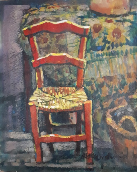 Vincent's Chair by Richard McDiarmid