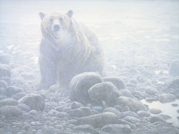 Robert z Bateman End of Season – Grizzly