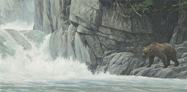 Robert z Bateman Fishing Hole