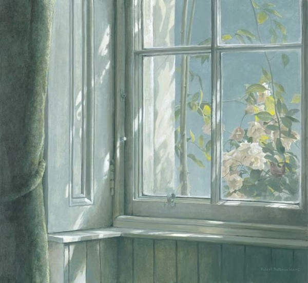 Robert z Bateman Manor House – Wren and Roses