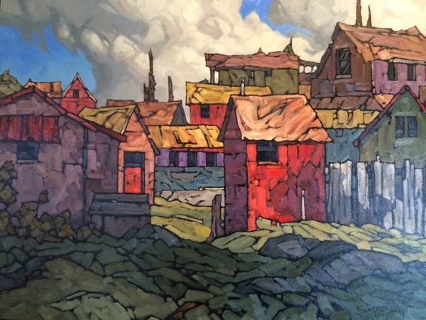Philip z Buytendorp Color in the Village