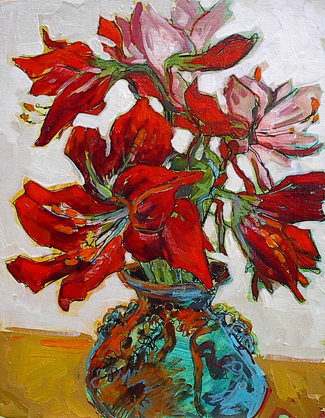 Gail z Johnson Amaryllis in Provence